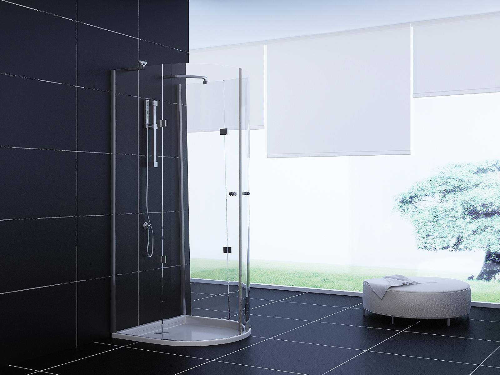 dusche komplett aus glas raum und m beldesign inspiration. Black Bedroom Furniture Sets. Home Design Ideas