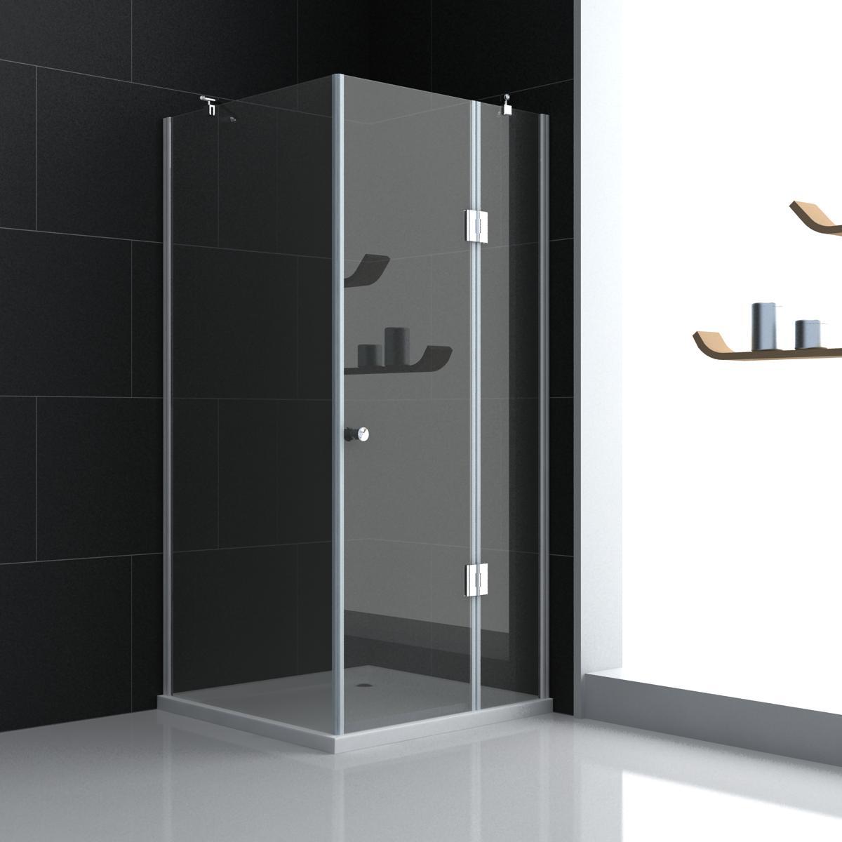 duschkabine dusche nano beschichtung duschtasse komplett 2 t ren halbkreis ebay. Black Bedroom Furniture Sets. Home Design Ideas