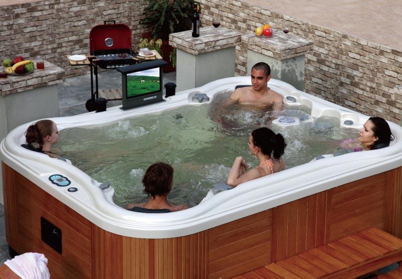 aussenwhirlpool butterfly 568 farben w hlbar hot tub. Black Bedroom Furniture Sets. Home Design Ideas